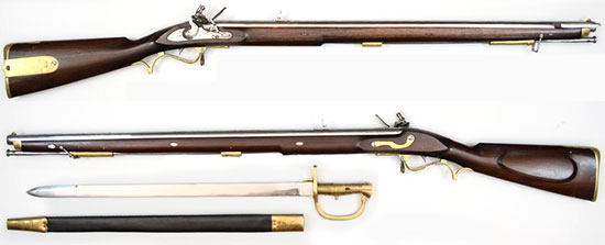 Pattern 1800 Infantry Rifle (Baker Rifle)