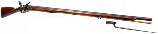 Long Land  Pattern с деревянным шомполом и отсоединенным штыком