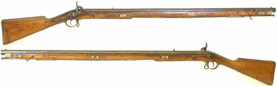 Модели Brunswick rifle, выпускаемые в Непале