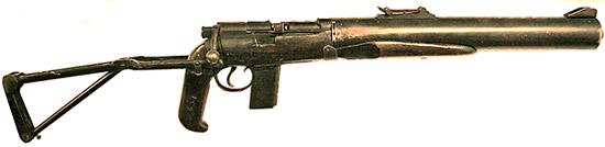 De Lisle Commando Carbine в парашютно-десантном варианте «Airborne Model»