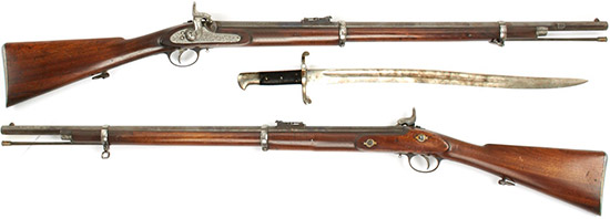 Enfield Pattern  1856 Army Short Rifle