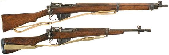 No.4 Mk I (сверху) и No.5 Mk I (снизу)