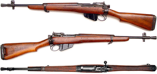 Lee-Enfield Rifle No.5 Mk I