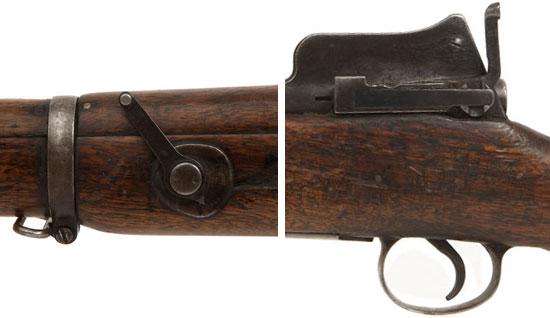Прицельные приспособления Enfield P14 для залповой стрельбы по групповым целям