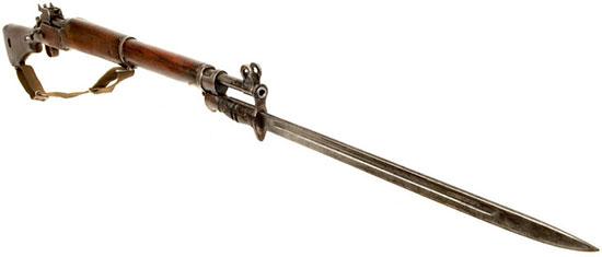 Enfield P14 (Rifle No.3) с прикрепленным штыком