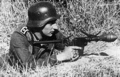 PanzerWurfkopfer 42 LP при использовании